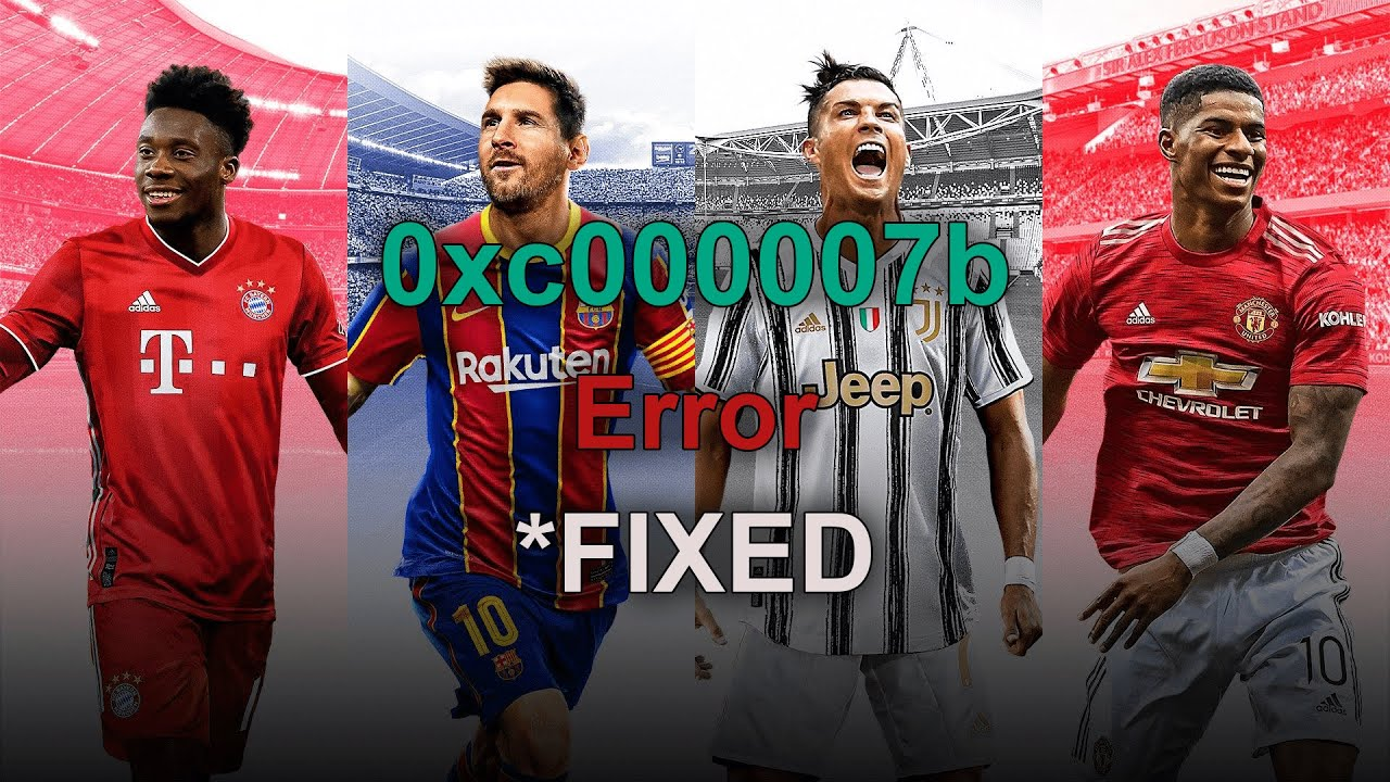 Fix 0xc000007b Error In Pes 16 17 Youtube