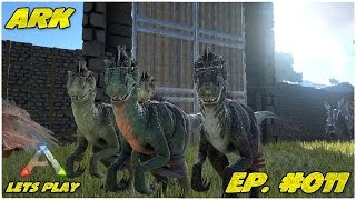 ARK: Survival Evolved Lets Play #011 - Da Trio Infernale oder Quadro?