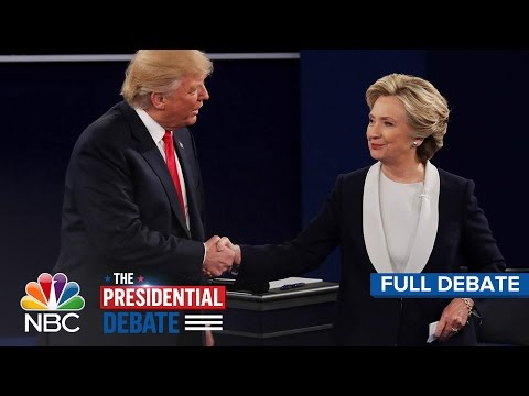 The Second Presidential Debate: Hillary Clinton And Donald T