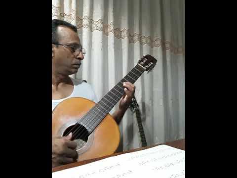 Asha Nirasha Mawu(Victor Ratnayake)classical Guitar