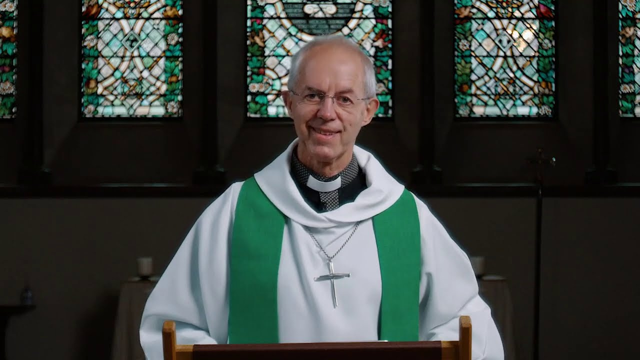 September 27, 2020: Sunday Sermon by Archbishop of Canterbury Justin Welby