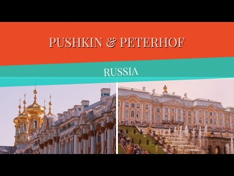 Pushkin And Peterhof, Russia Vlog! (St. Catherine's And Peterhof Palaces)