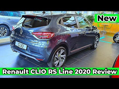 New Renault CLIO RS Line 2020 Review Interior Exterior