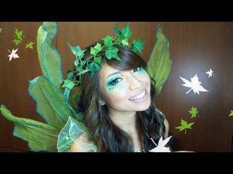 Forest Fairy Halloween Makeup Tutorial