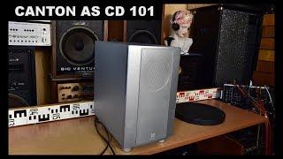 Canton As Cd 101 Active Subwoofer Aktiv Woofer Bass Reflex Box Speaker Amplifier Youtube