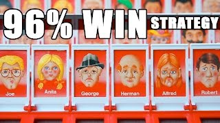 BEST Guess Who Strategy- 96 WIN record using MATH