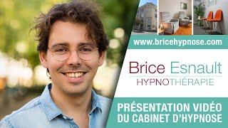 Présentation du cabinet d'HYPNOSE à ANGERS - Brice Esnault - Hypnothérapeute
