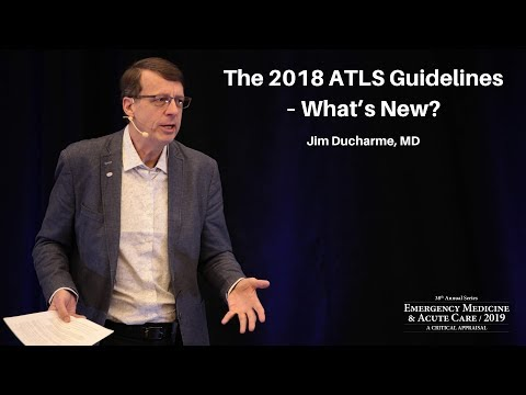 """The 2018 ATLS Guidelines: """"What's New""""? 