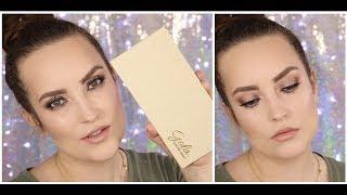 Neutralny, połyskujący, przydymiony spot light na każdą okazję - tutorial makijażu