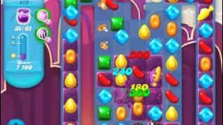 Candy Crush Soda Saga Level 419  -  No Boosters