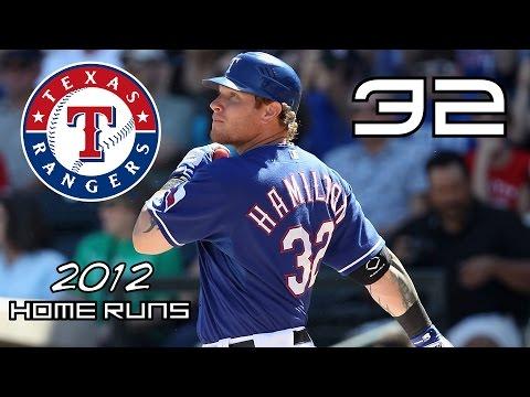 Josh Hamilton  2012 Home Runs ᴴᴰ
