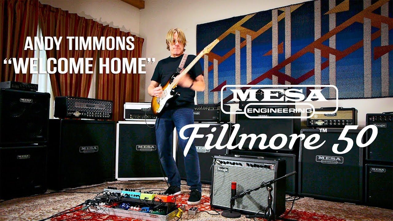 Mesa Boogie Fillmore 50 1x12 Combo Andy Timmons