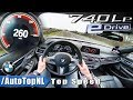 BMW 7 Series 740Le iPerformance AUTOBAHN POV TOP SPEED 260km/h by AutoTopNL