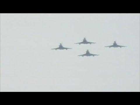 Se estrella en Albacete un Eurofighter que volvía del desfile nacional