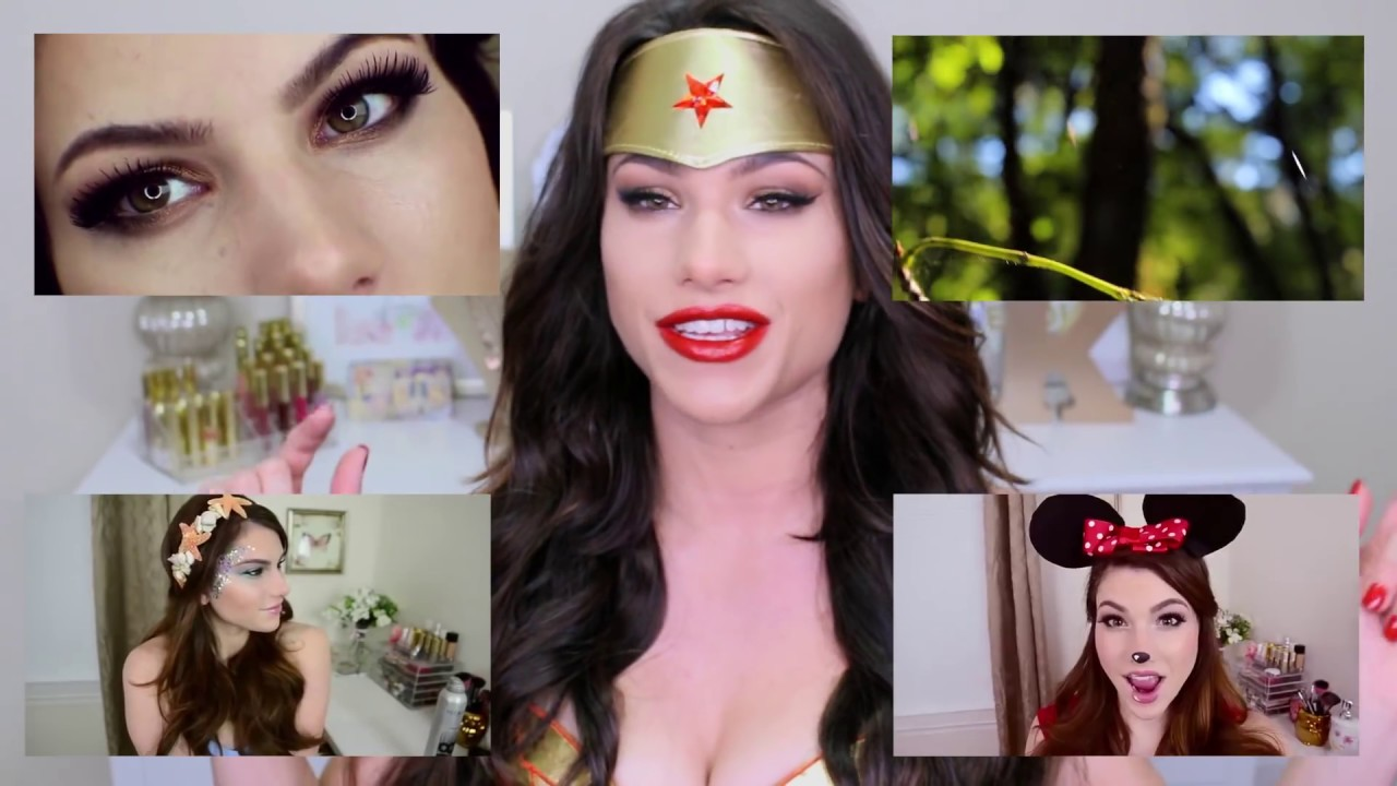Wonder Woman HALLOWEEN Makeup Tutorial! + Costume Outfit Idea ...