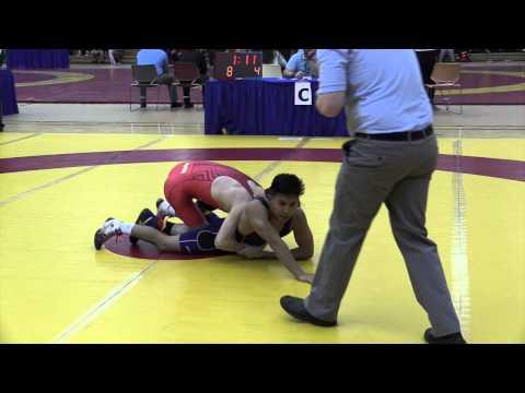 2014 Dino Invitational: 54 kg Christian Nori vs. Richard Cux