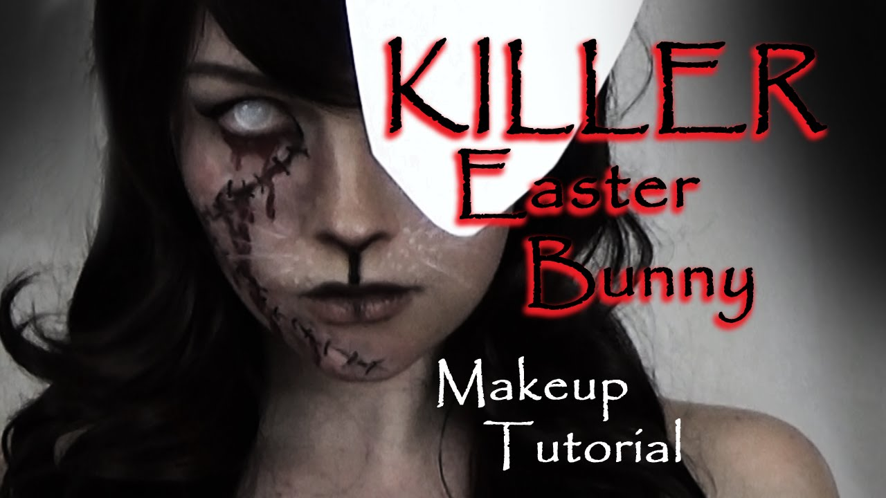 KILLER Easter Bunny Makeup Tutorial! HOPPY EASTAH