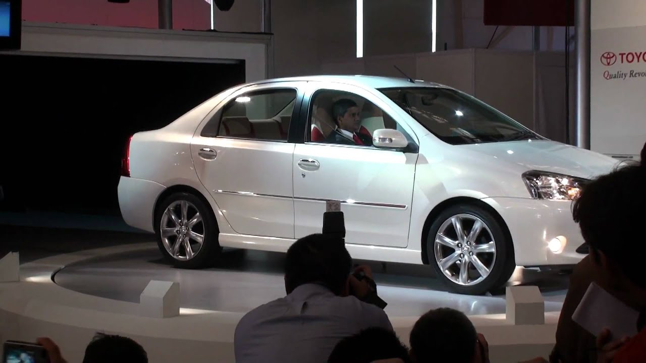All Toyota Vehicles >> Toyota ETIOS (Sedan & Hatchback) Launch - Auto Expo 2010 - YouTube