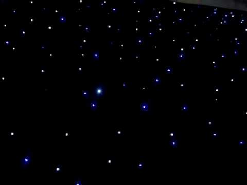 Led Star Cloth With Bw Lights Youtube