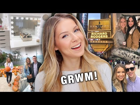 GRWM! CHICAGO, NYC, MEETING KACEY MUSGRAVES + NEW VANITY