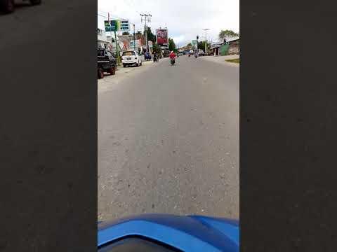 Perjalan kota namlea start mejid al-ikhwan ~pasar baru