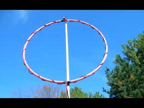 Portable Loop Antenna tuner demonstration (20m)