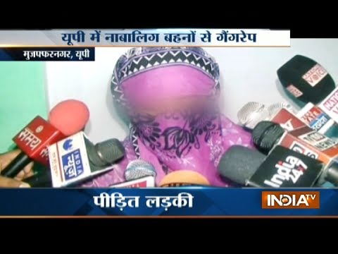 Minor sisters gang raped at gun-point in Muzaffarnagar