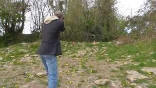 Airsoft Tokyo Marui Colt Gov't 1911 Mk IV Series 70 - Shooting