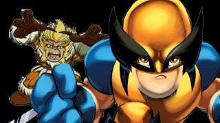 Superhero Squad video game: Wolverine vs Sabretooth