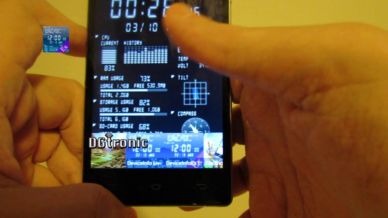 android app review device info ex live wallpaper
