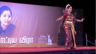 Kuchipudi - dance on the brass plate
