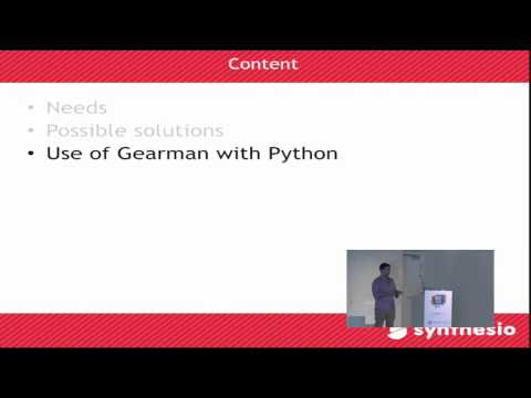 Image from Parallel processing using python and gearman