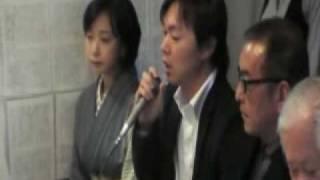横田滋さん、早紀江さん、飯塚耕一郎さんに続き出演者からも一言づつコ...