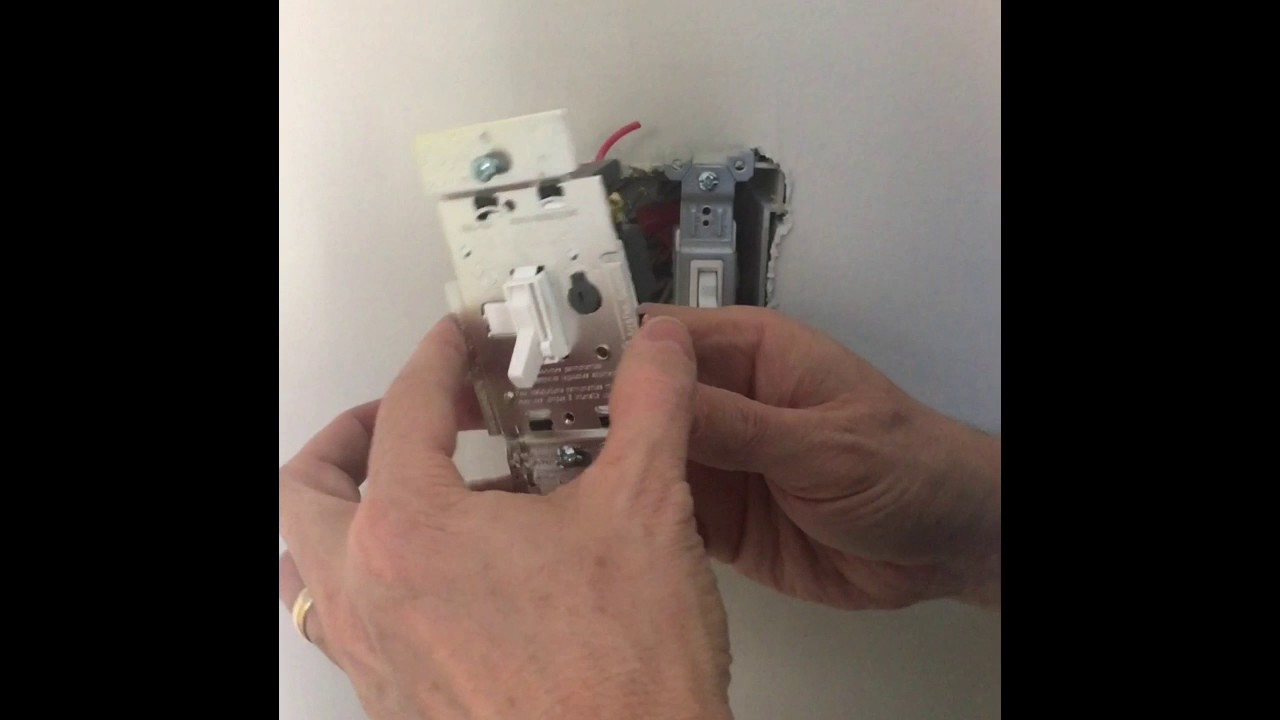 Installing A Lutron Dimmer Switch What Doesnt Tell You Wiring Diagram Red Black Blue
