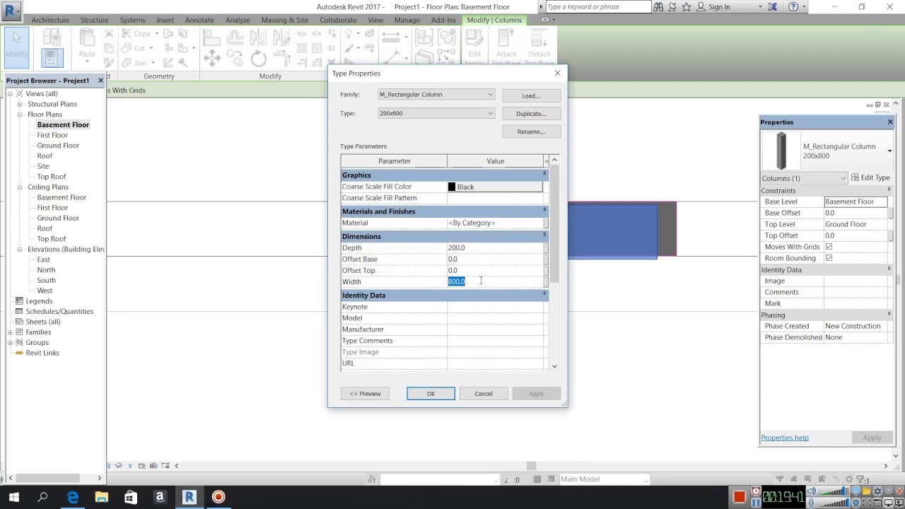 REVIT REAL TIME TUTORIAL HOW TO CREATE FROM AUTOCAD FILE DWG RVT PARt 1