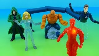 FANTASTIC FOUR MOVIE BURGER KING KIDS MEAL COLLECTION 2006