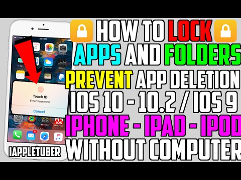 How to lock apps and folders free on ios 10 102 ios 9 no how to lock apps and folders free on ios 10 102 ios 9 no computer iphone ipad ipod ccuart Choice Image
