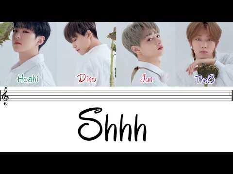 SEVENTEEN (세븐틴) - 'SHHH' [Performance Team](Color Coded Lyrics Eng/Rom/Han/가사)