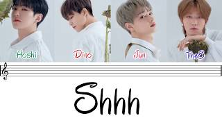 [2.89 MB] SEVENTEEN (세븐틴) - 'SHHH' [Performance Team](Color Coded Lyrics Eng/Rom/Han/가사)