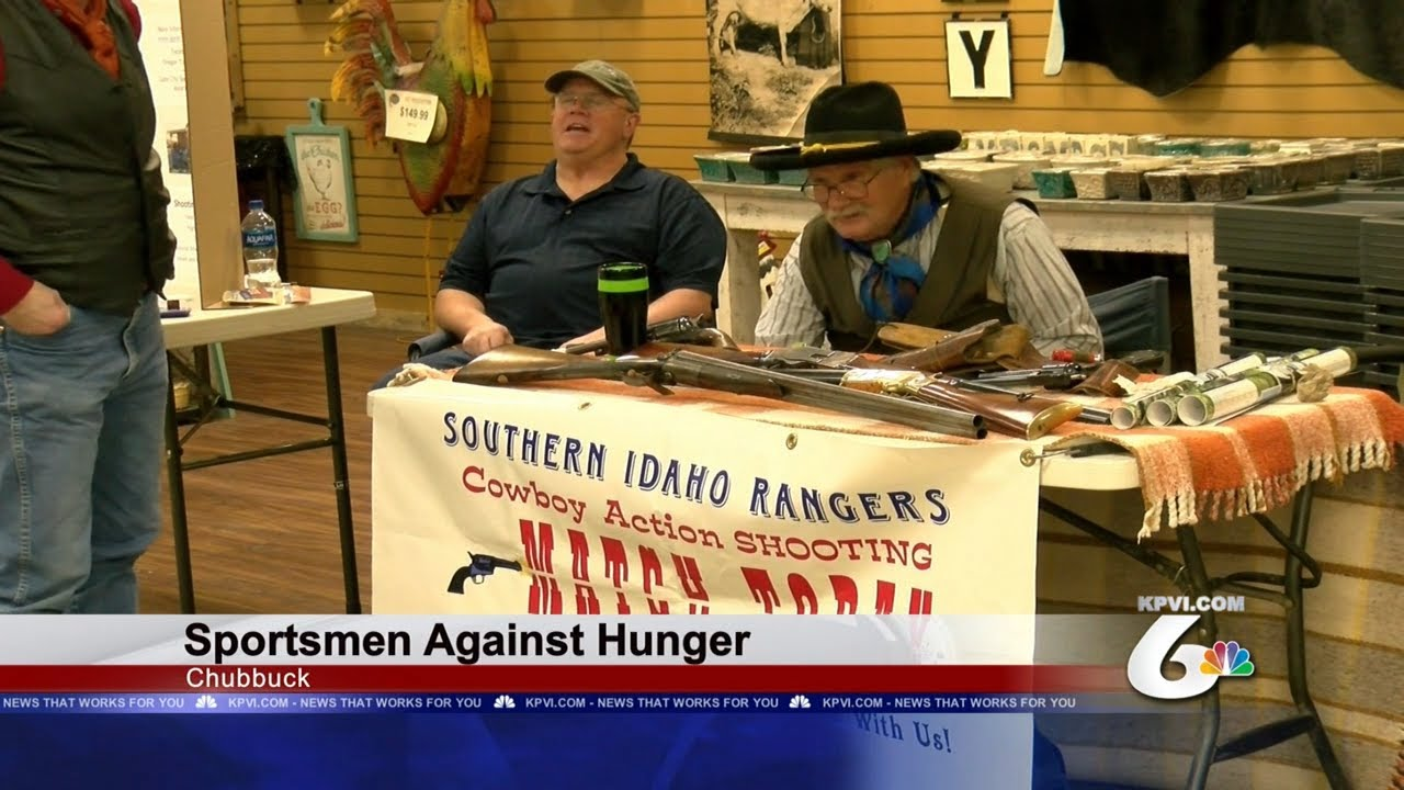 Sportsman come together to fight hunger | Local News | kpvi com