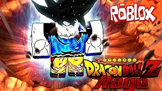 FIGHTING A SUPER GOKU | Roblox Dragon Ball Rage