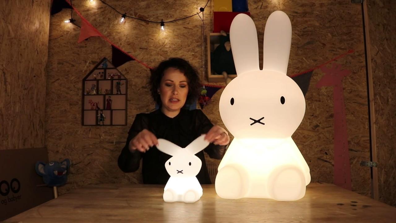 Mr. Maria Miffy lamper   YouTube
