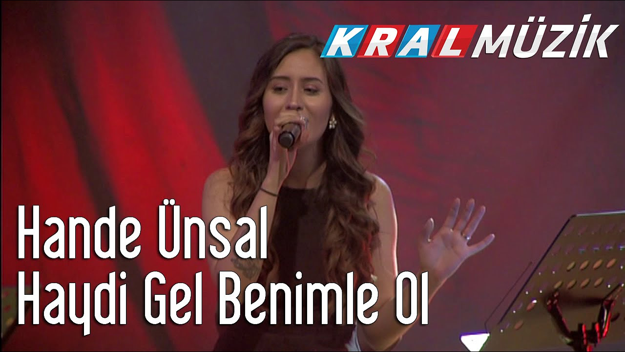 Hande Ünsal - Haydi Gel Benimle Ol (Kral Pop Akustik)