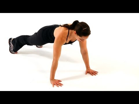 How To Do A Plyo Push-Up & Clap Push-Up | Boot Camp Workout