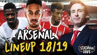 How Emery Could Set Up Arsenal Next Season | Starting XI, Formation & Tactics