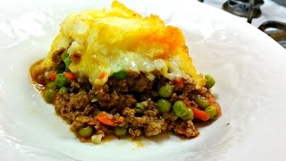 Cottage Pie Recipe - Beef and Mashed Potato Casserole