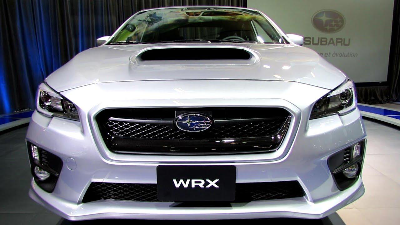 2015 Subaru WRX   Exterior And Interior Walkaround   2014 Montreal Auto  Show   YouTube