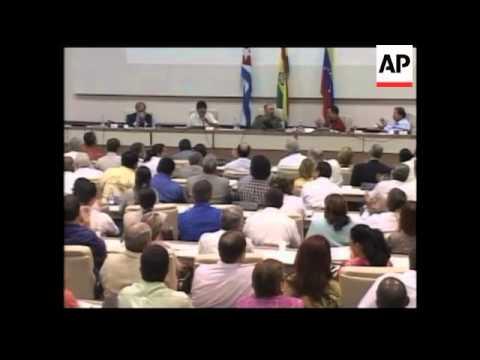 WRAP Cuba, Venezuela and Bolivia sign alternative trade pact- AP cover
