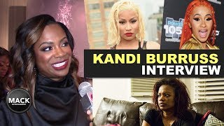 Kandi Burruss On Nicki Minaj's Queen Radio Feud + NEW Movie!