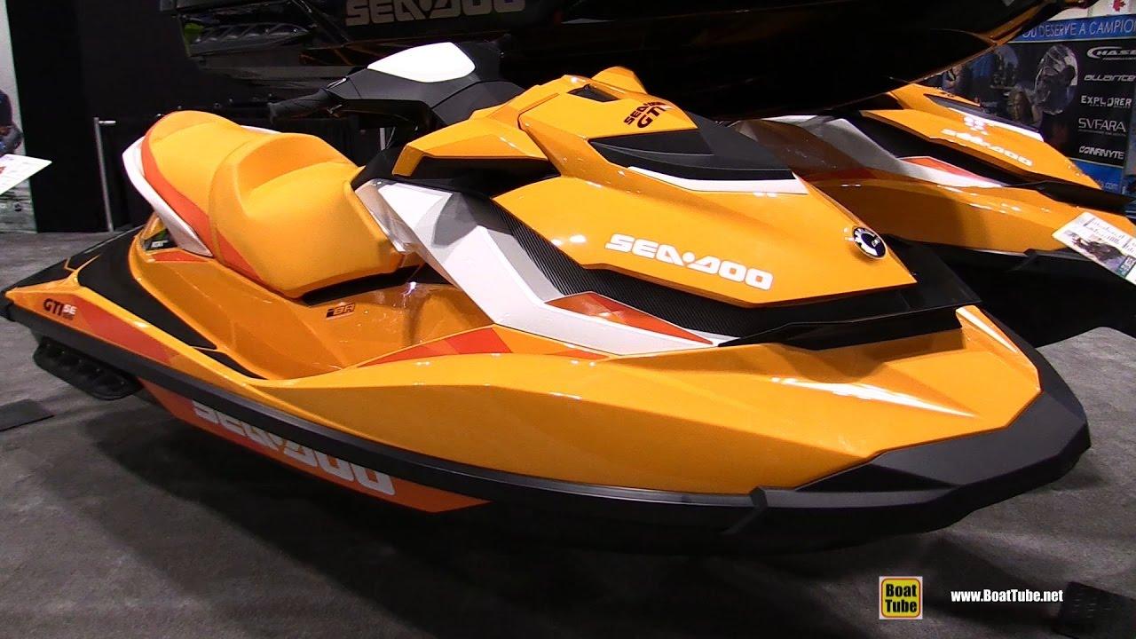 2017 sea doo gti se 155 jet ski walkaround 2017 toronto boat show youtube. Black Bedroom Furniture Sets. Home Design Ideas